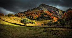 Осенний пейзаж— это лучшее, что может случиться всентябре