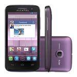 Point Shopping - Smartphone Alcatel 5020A M Pop Desbloqueado Roxo Dual Chip, Android 4.1, Processador 1GHz, Câmera 5MP, 3G e Wi-Fi