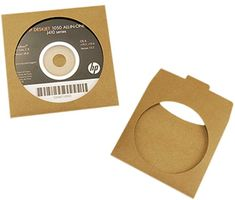 Ocharzy Kraft Paper CD DVD Paper Sleeves with Clear Window and Flap (100 pcs, A) Review