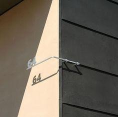 Numeração residencial, de Max Levy