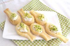 Cucchiaini di pasta sfoglia, scopri la ricetta: http://www.misya.info/2015/06/20/cucchiaini-di-pasta-sfoglia.htm