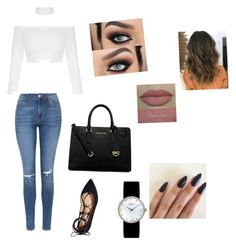 """""""Untitled #172"""" by livelovethelife on Polyvore featuring Topshop, MICHAEL Michael Kors, Christian Dior and Steve Madden"""