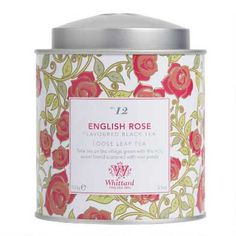 Whittard, Fragrant Roses, Welcome Gifts, Perfect Cup, Tea Blends, Rose Cottage, English Roses, Loose Leaf Tea, Tea Accessories