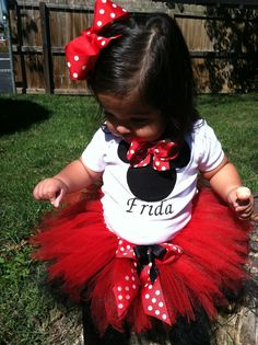 Minnie Mouse Tutu (Think they have them in our size?)