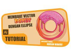 How to creat Donut Vector – Illustrator tutorials