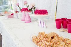Simple Party Food For Kids: My 3 Easiest Recipes! |girls-first-birthday-rice-crispy-treats, party time #mimijumi mumma style.