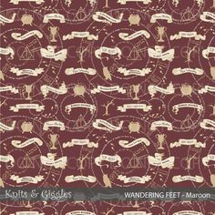 RETAIL PUL Wandering Feet-Knits and Giggles from Fabric Stache