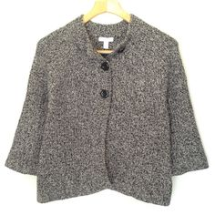 Charter Club 3/4 Sleeve Cardigan This cardigan is super stylish and versatile.  It pairs well with skinny jeans and boots or black dress pants and heels.  It is in excellent condition. Charter Club Sweaters Cardigans