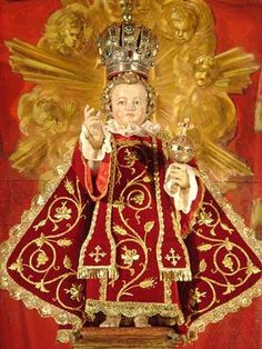 Religious Images, Religious Art, Tourism Images, Holy Mary, Infant Of Prague, Church Of Our Lady, Christ The King, Jesus Pictures, Infancy