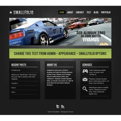 Smallfolio — Wordpress Theme   Website templates   Zizaza.com