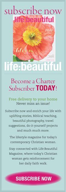 Life Beautiful Magazine Subscribe