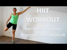 20 Minute HIIT Workout For Fat Loss - YouTube
