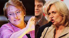 Michelle Bachelet y Evelyn Matthei se disputarán la presidencia de Chile el próximo 15 de diciembre, después de que ambas pasaran a la segunda vuelta de las elecciones este domingo.