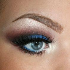 augen make up blaue augen schönheitstipps