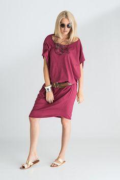 Indie Asymetrical Long Cotton Dress