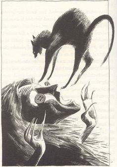 Dave McKean - Coraline illustration