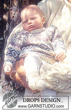 DROPS Fair Isle Pattern Sweater and Socks. ~ DROPS Design