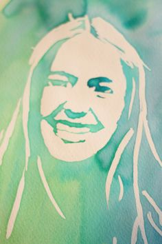 EASY Watercolor Portrait  http://www.dosmallthingswithlove.com/2013/03/easy-watercolor-portrait.html