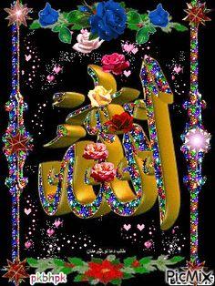 Floral Wallpaper Iphone, Rose Flower Wallpaper, Wallpaper Nature Flowers, Beautiful Nature Wallpaper, Islamic Wallpaper Hd, Allah Wallpaper, Photos Islamiques, Mekka Islam, Beautiful Art Pictures