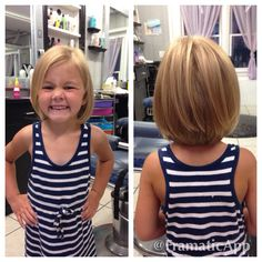allison took scissors to her hair! do you think this would be to short to get? @sincerelysarahb @savanna2012 @luckycharm2389 #littlegirlhaircuts Little Girl Short Haircuts, Short Haircuts 2017, Little Girl Hairstyles, Short Girls, Cool Hairstyles, Kids Girls, Toddler Girls, Little Girls, Childrens Haircuts