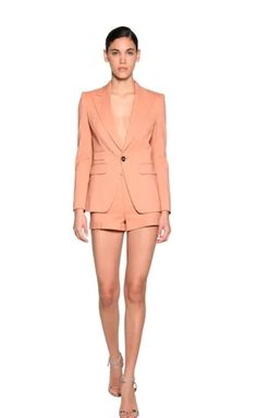 STRETCH CREPE SUIT | CrepeSuit | Dsquared2, Stretches, Bodysuit, Suits, Women, Style, Fashion, Onesie, Swag