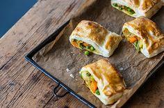 Alfred Prasad's Vegetable Puffs -