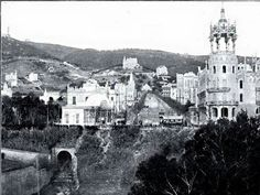 RIERA DE SANT GERVASI I AV TIBIDABO, ANY 1905, BARCELONA