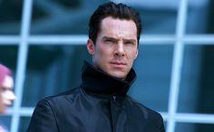 Benedict Cumberbatch as Kahn in new Star Trek: into darkness.