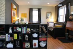 Houzz Tour: a world traveler and producer nestled in NE Minneapolis - eclectic - living room - minneapolis - Kaia Calhoun