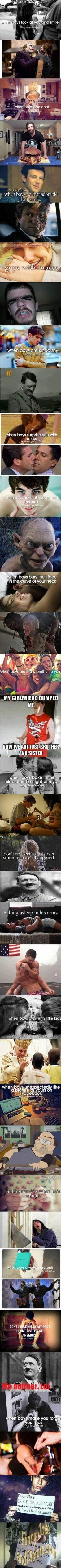 Funny picture: Things boys do…
