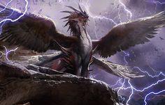Kolaghan - Dragons of Tarkir artwork 5