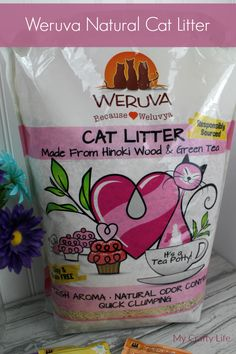 Weruva - Natural Cat Litter. Fresh Aroma, Natural Odor Control and Quick Clumping