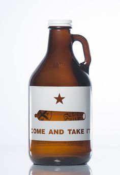 32 oz. Come & Take It Growler by HausOfGrowlers on Etsy