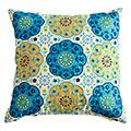 Suzani Flower Pillow--love the colors and the summery pattern