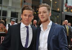 Finn Cole and Joe Cole Sunday September Special screening of 'Peaky Blinders' - Arrivals Pictures) Peaky Blinders Characters, Peaky Blinders Series, Cillian Murphy Peaky Blinders, John Shelby Peaky Blinders, Hot Actors, Actors & Actresses, Birmingham, Shelby Brothers, Finn Cole