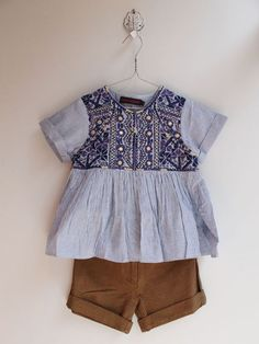 Bohemian baby girl clothes