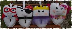 Sweetest Tooth Fairy Pillows - Choose from Four