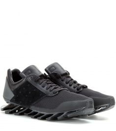 adidas originals rick owens black trainers sneakers collaboration Springblade Low Sneakers