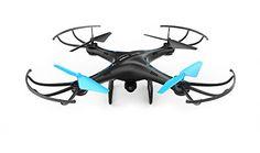 U45 Blue Jay WiFi FPV Quadcopter Drone con cámara HD, Altitude Hold y Live Video Plus Control remote | Para la fotografía aérea, fácil de volar para expertos pilotos y principiantes | Gran idea de regalo por Force1RC - http://www.midronepro.com/producto/u45-blue-jay-wifi-fpv-quadcopter-drone-con-camara-hd-altitude-hold-y-live-video-plus-control-remote-para-la-fotografia-aerea-facil-de-volar-para-expertos-pilotos-y-principiantes-gran-idea-de-reg/