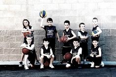 Ideas for basketball pictures