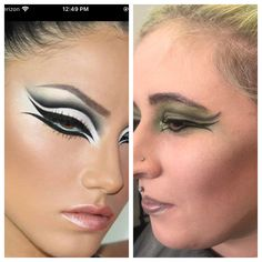 Inspiration used Mud Makeup, Septum Ring, Halloween Face Makeup, Rings, Inspiration, Jewelry, Biblical Inspiration, Jewlery, Bijoux