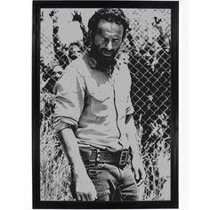 Walking Dead - Rick In Points Poster
