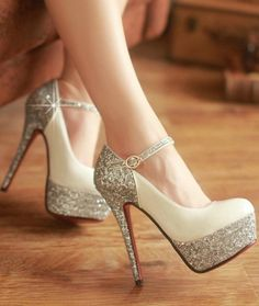 FASHION SHINY HIGH HEELS