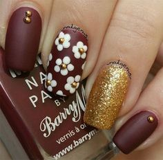 13 Cute Nail Art Designs 2017 - style you 7