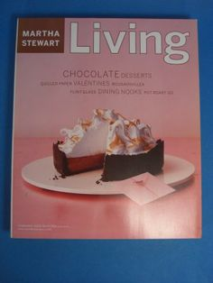 Magazine Martha Stewart Living February 2002