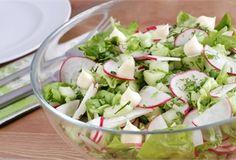 Sałatka ogórkowa z rzodkiewką/ Cucumber salad with radish  www.winiary.pl