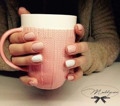 cool Cable Knit Nails the latest trend this Season - Stylendesigns.com!
