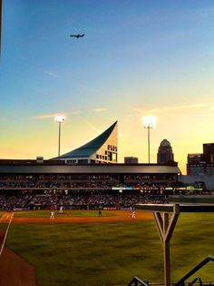 April 14, 2016 - Opening Day for the Louisville Bats of the AAA International League at Louisville Slugger Field.