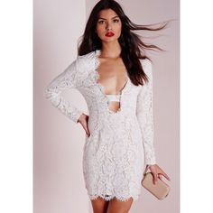 NWT Missguided Lace Scallop Dress Originally $76.50 • US 4 or 6 available Missguided Dresses