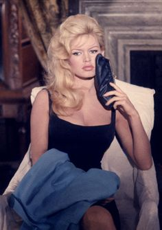 Brigitte Bardot (1964),by LEO FUCHS